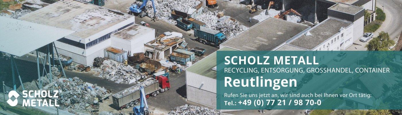 Recycling Und Entsorgung In Reutlingen Carl Heinz Scholz Rohstoffhandel Gmbh Co Kg
